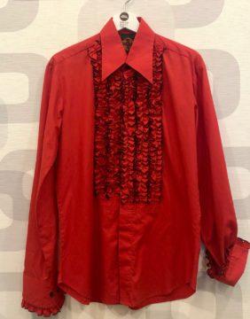 camicia vintage da cerimonia